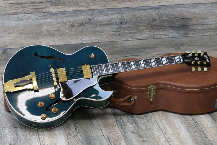 Gibson l4 ces master model custom shop 1997 turqoise