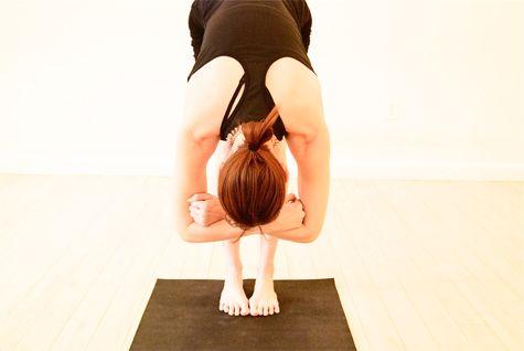 Yoga for Back Pain - Forward Fold