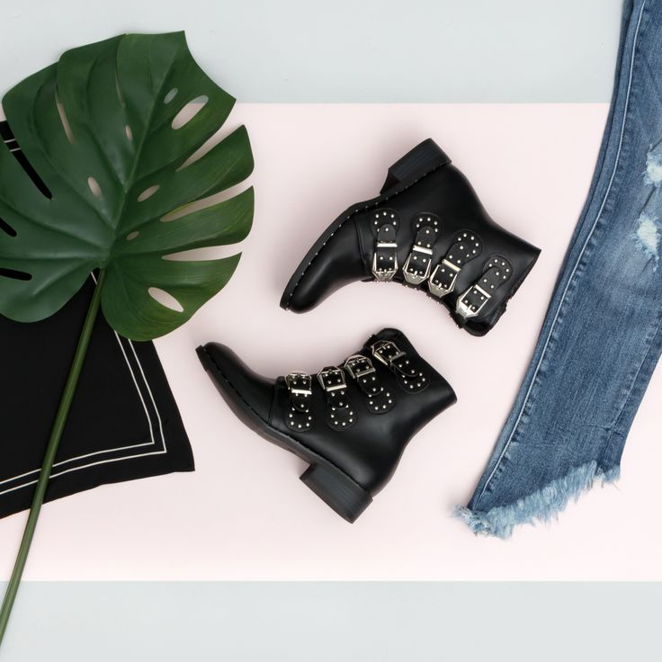 NEW BOOTS!  #fashion #newshoes #shoes #bikerboots #fashionstyle #style #outfit #lookbook #denim #cool #inspiration #lookbook #gutsgusto #green #fashionstore