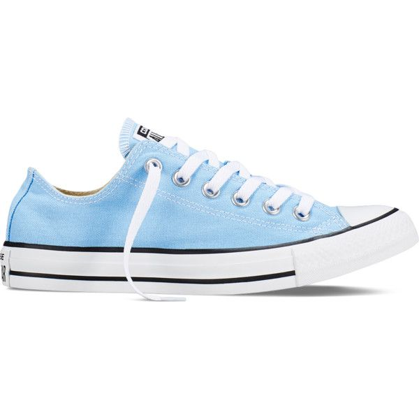 converse shoes light blue