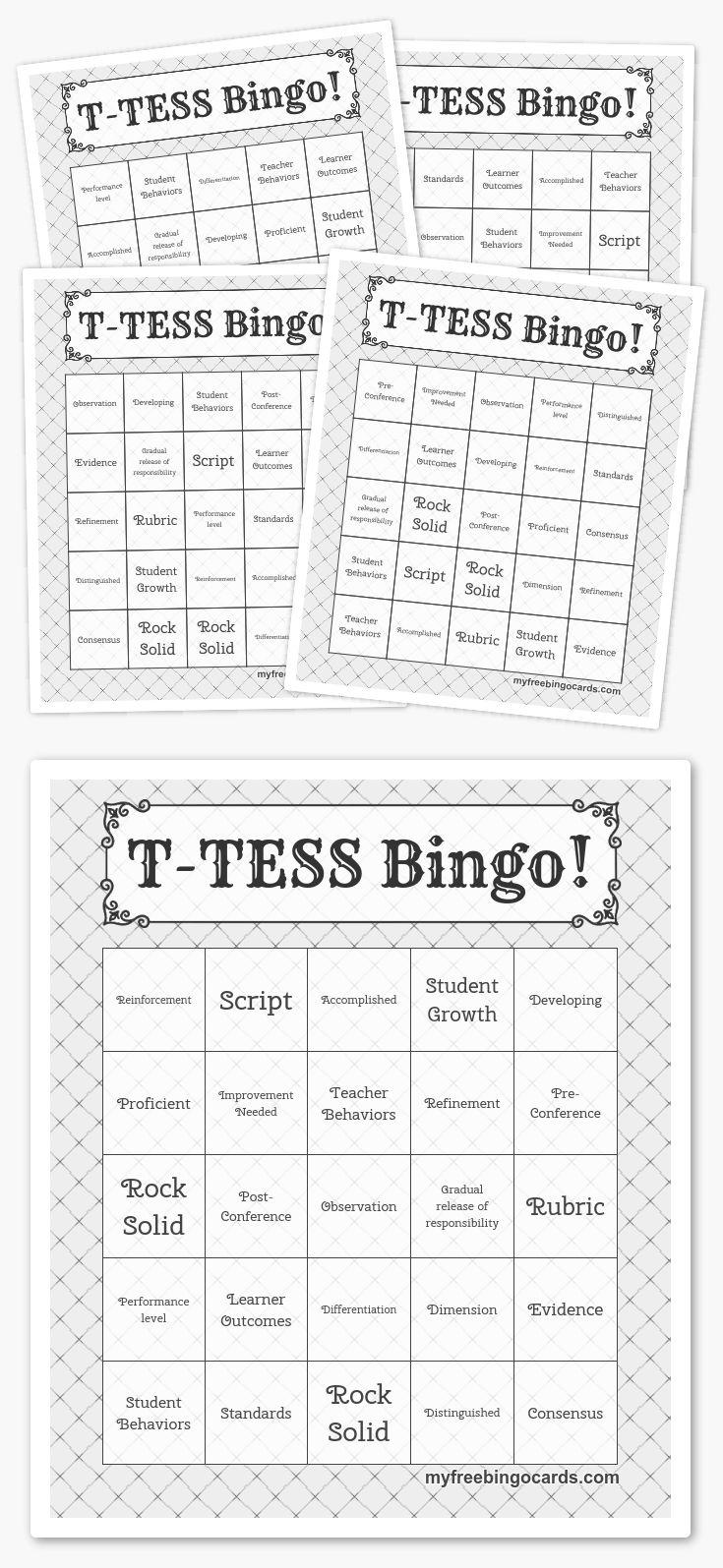 T-TESS Bingo!