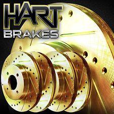[FULL KIT] GOLD HART DRILL/SLOT  BRAKE ROTORS -Chevrolet CORVETTE 1963 - 1982