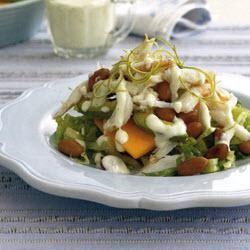 Tropische avocado-krabsalade @ allrecipes.nl