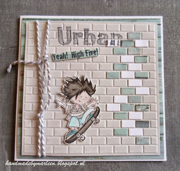 Handmade by Marleen: Urban Don