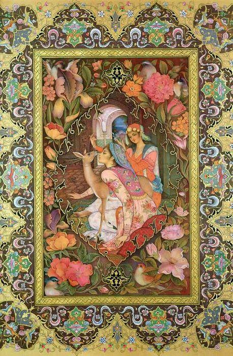 Mohammad Bagher Aghamiri (Persian miniature).