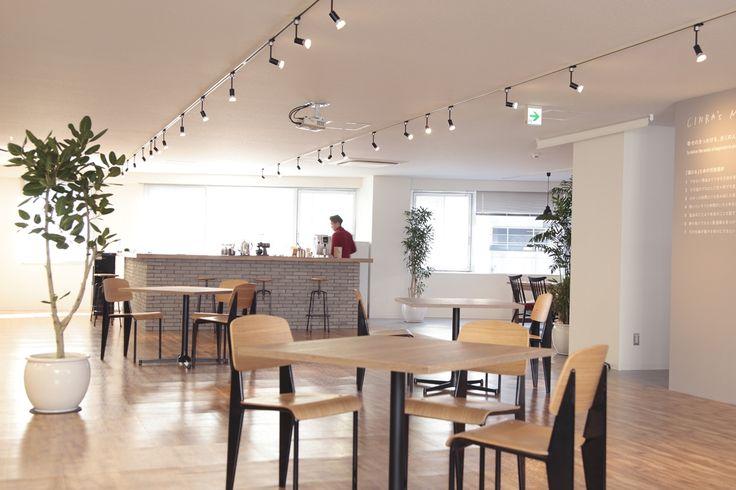 カフェオフィス|オフィスデザイン事例|デザイナーズオフィスのヴィス
