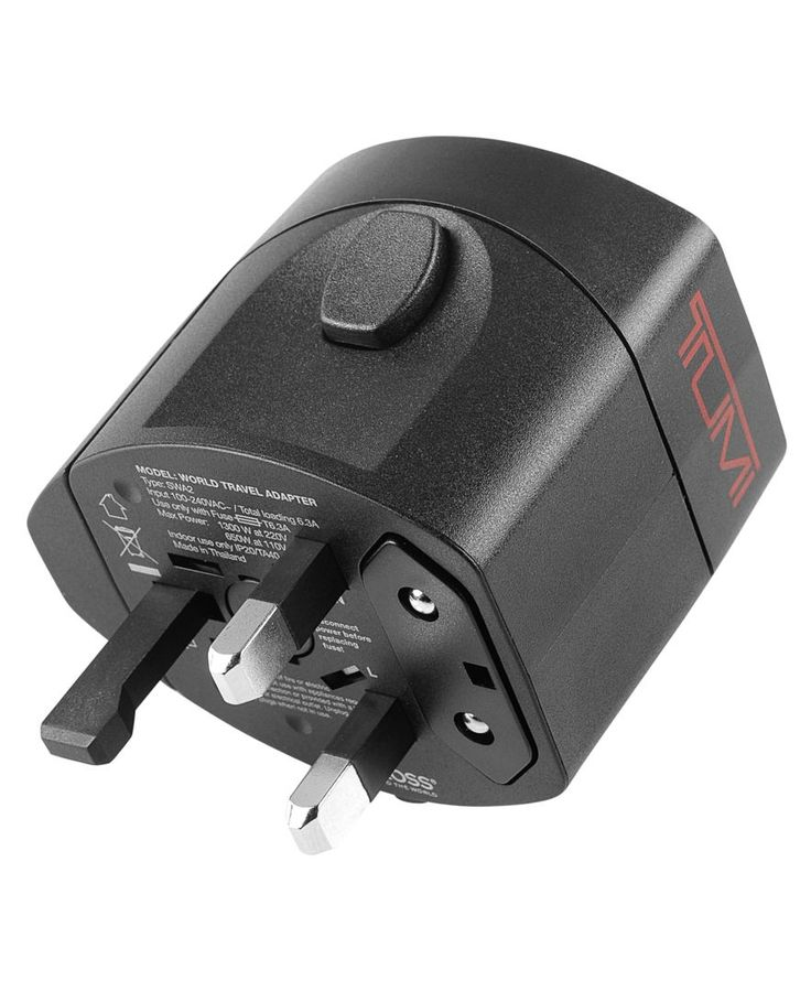 Tumi Travel Adaptor with Ballistic Case - Travel Accessories - luggage - Macys