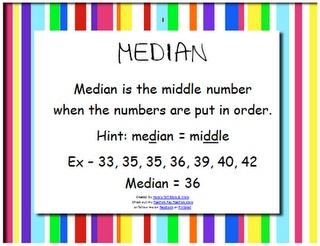 37 mejores imágenes sobre 3rd-4th Grade Mode Mean Median Range ...