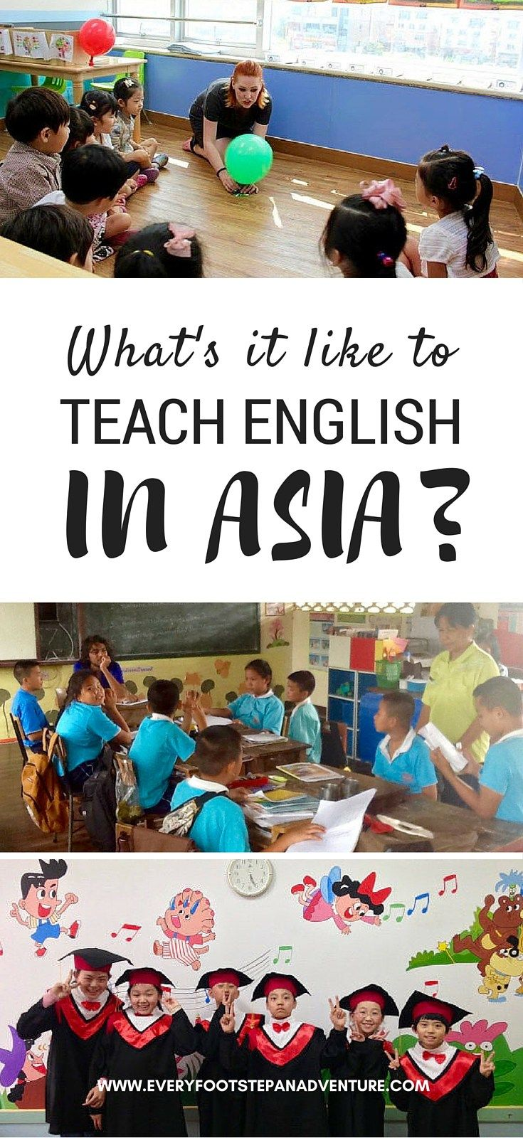Want to teach English abroad? Find out why these three people loved their experiences teaching English in Asia — stories from South Korea, Thailand, and China!