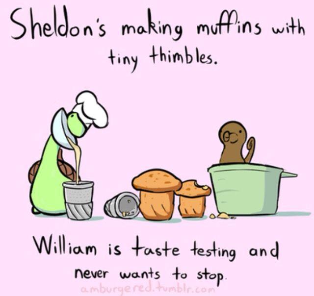 Baking with Besties! - Sheldon