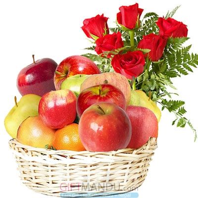 send fruits and red roses to wish get well soon using us to send flowers to Mumbai if your favorite location is Mumbai.