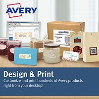 This free software makes it easy way to create your labels, business cards, dividers and name badges projects by selecting a pre-designed template and changing the text to say just what you want using Avery fonts or your system fonts.
