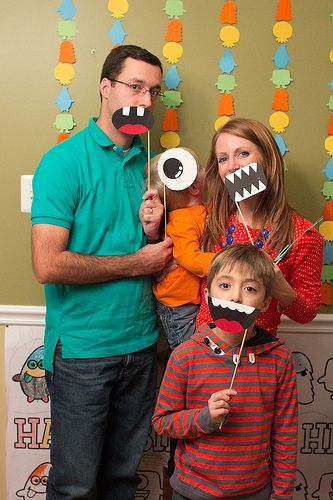 Two Boys and a Blog: Henry's Little Monster Party