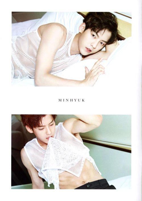 BTOB - Lee Minhyuk SUMMER COLOR ~~~ Those Abs <3