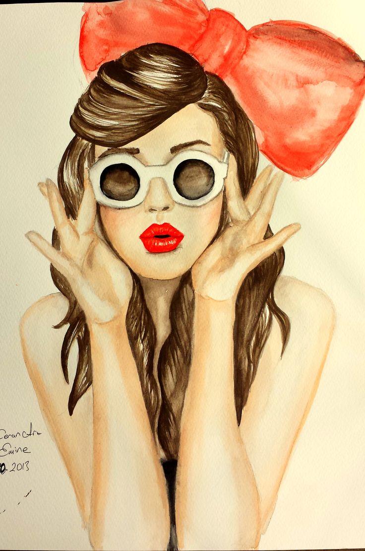 #draw #painting #illustration by Emine Ceran...