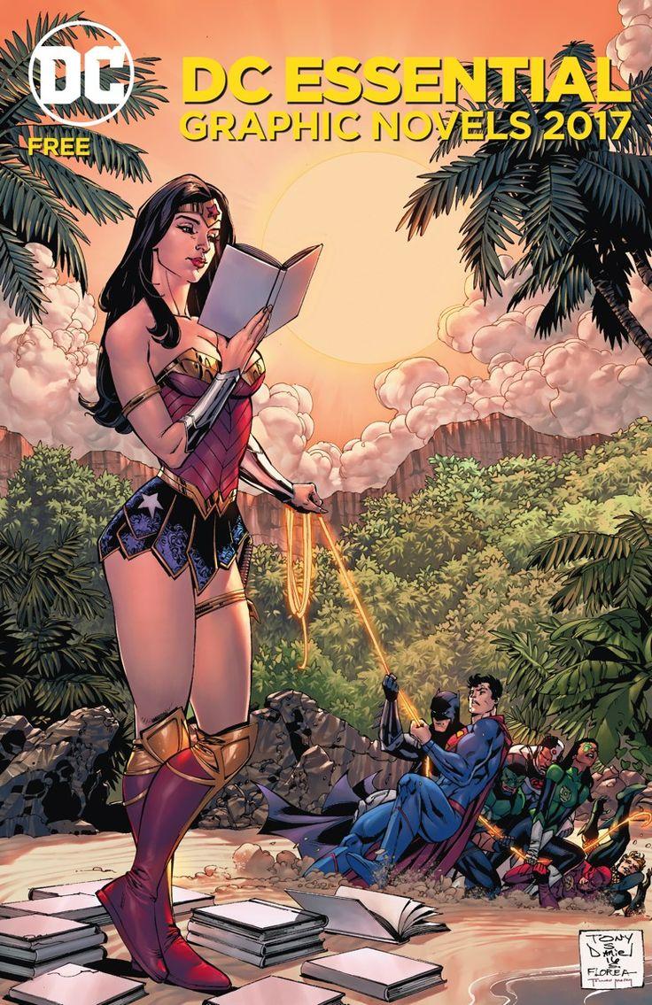 DC_ESSENTIAL_GRAPHIC_NOVELS_2017El novelas gráficas de DC ESENCIALES 2017 catálogo hace que sea fácil encontrar la historia perfecta para todo el mundo!