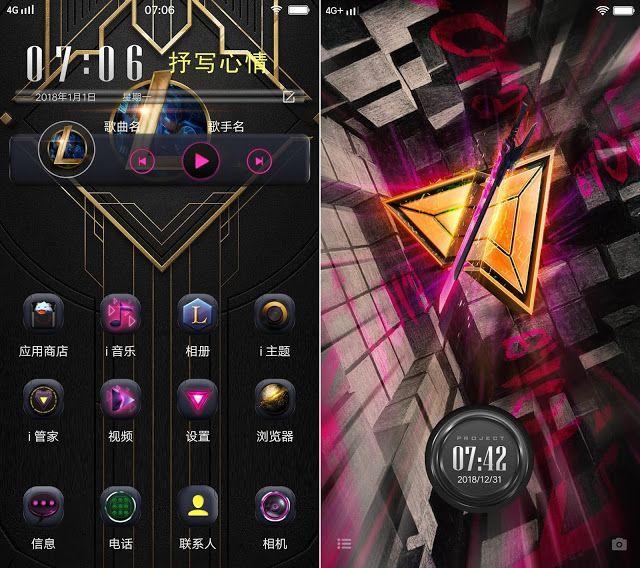 Dark Star Theme Vivo Themes Itz Dark Star Vivo Cool Themes Vivo y95 wallpaper hd download