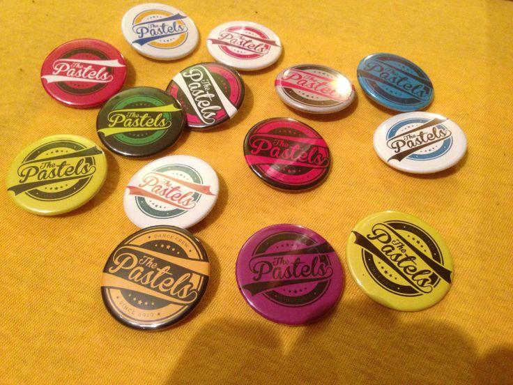 Odznaky s vlastným logom - The Pastels