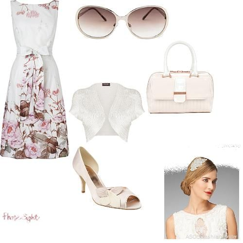 Garden Party Style Dress