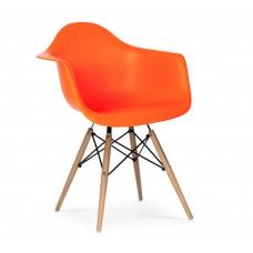 Charles & Ray Eames Inspired DAW Chair - Orange