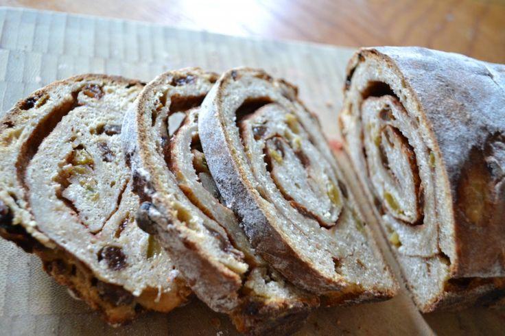 Sourdough cinnamon raisin bread. My new fav. Make 2 at a time.