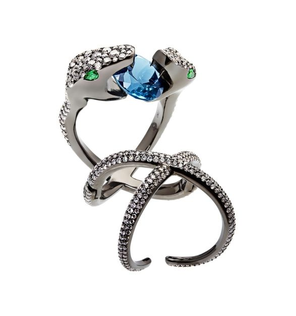 Jungle Fever Snake Ring by Crows Nest