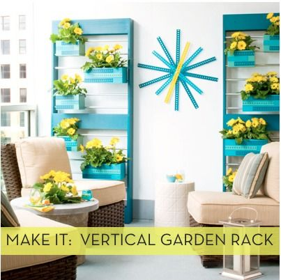 Credit:_Lowe's Creative Ideas[http://lowescreativeideas.com/idea-library/projects/Vertical_Garden_Planters_and_Rack.aspx]