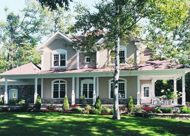 56 Best Images About Farmhouse Plans On Pinterest House