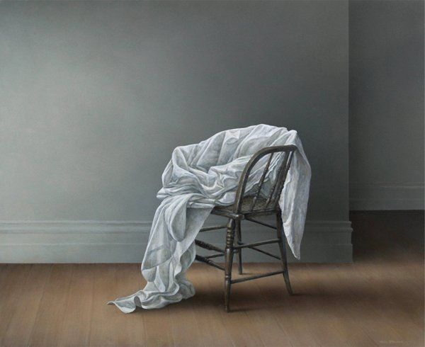 Parnell Gallery artist Neil Driver Chair and Drapery http://www.parnellgallery.co.nz/artworks/artist-neil-driver/chair-drapery/
