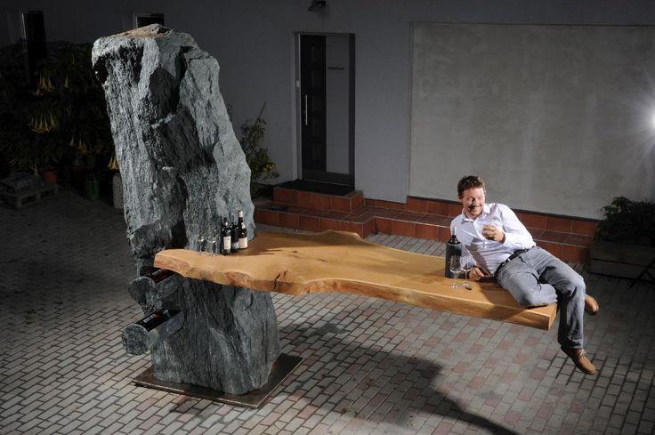 5 Tonnen Naturstein Bar woone | STEIN:WERK