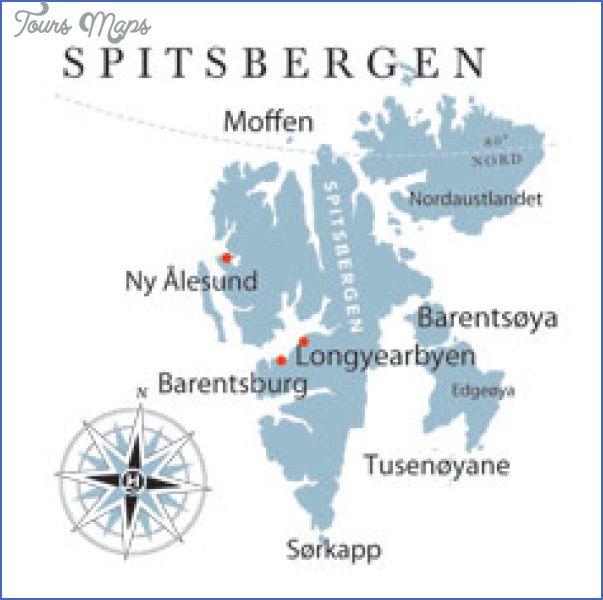awesome Spitzbergen (Svalbard) Map | Svalbard | Pinterest | Map ...