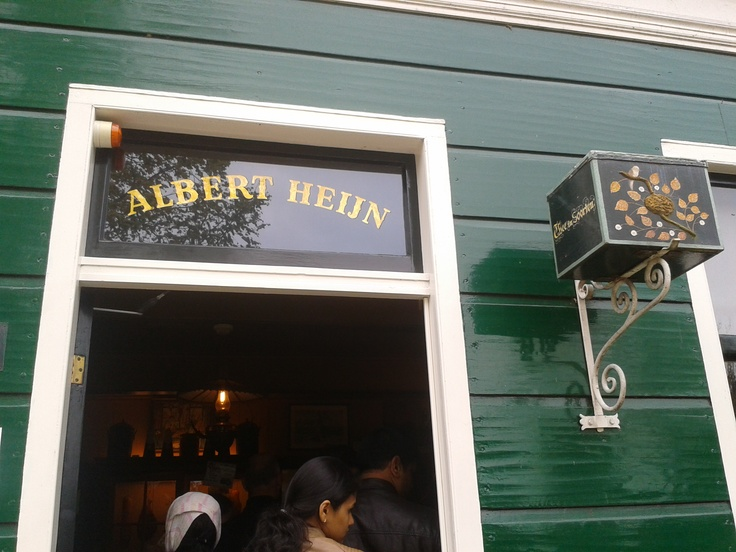 Albert Heijn winkel op de Zaanse Schans