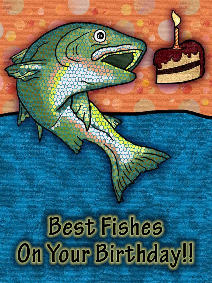 Birthday Fishes Card Birthday Cards Application Funny Happy Birthday Wishes Funny Happy