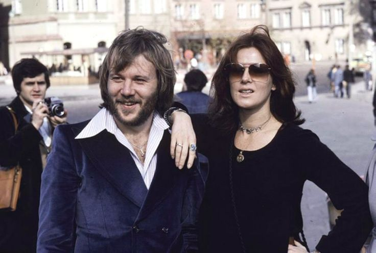 Benny Andersson and Anni-Frid Lyngstad ABBA