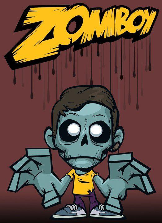 Zomboy es un dj que suele hacer musica electronica con canciones de juegos