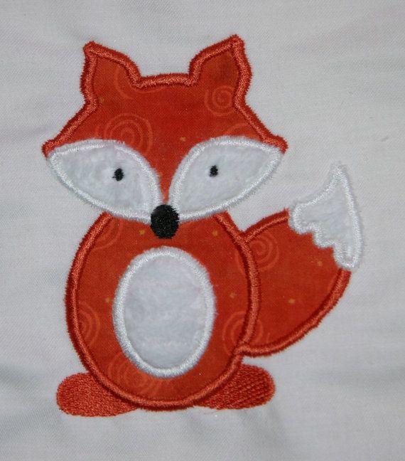 Fox Applique Sewing Ideas Pinterest Machine