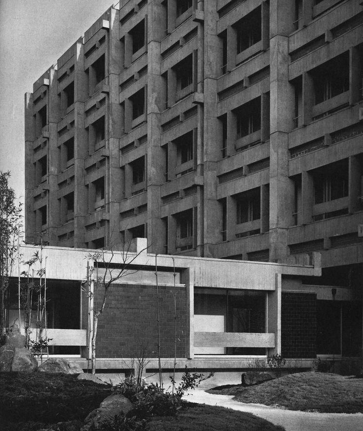 Teijin Central Research Institute, Minamitama, Tokyo, Japan, 1964 (James Stewart Polshek)