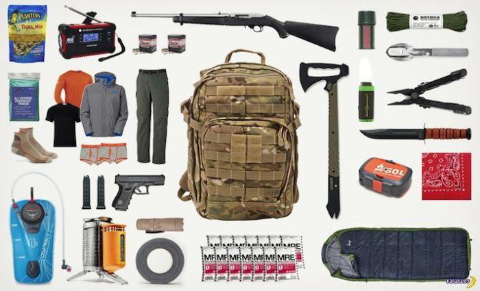Επιβίωση: Σακίδιο 72 ωρών   Αμυντικά και Στρατιωτικά Θέματα