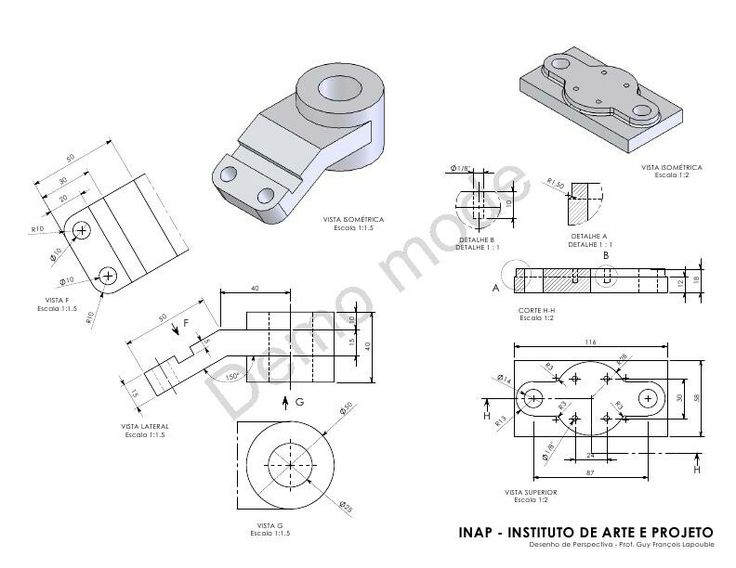 263 best Mechanical drawings / Blueprints / CAD Drawings ...