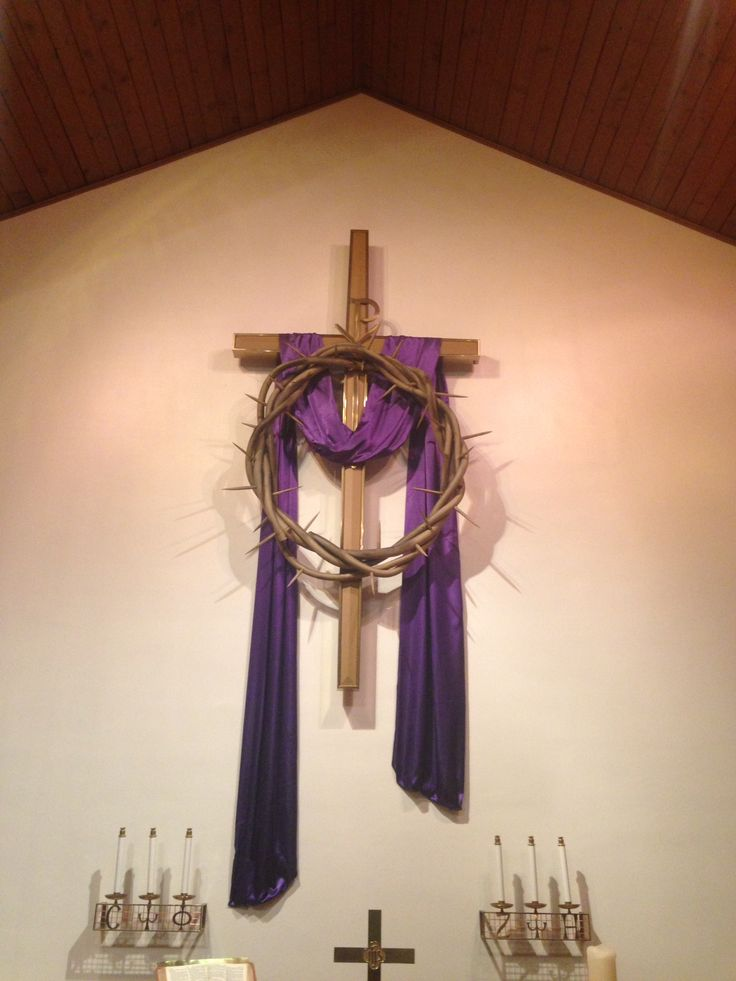 Easter Decorating Ideas For Church 23 best easter tridium - good friday images on pinterest | church