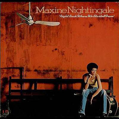 Ho appena scoperto la canzone Right Back Where We Started From di Maxine Nightingale grazie a Shazam. http://shz.am/t411103