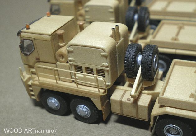 WOOD ART - Rotran Abnormal truck