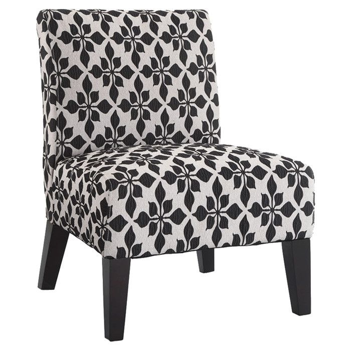 for the foyer found it at wayfair monaco spades accent chair in black