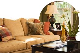 upholstery freshening with arm and hammer