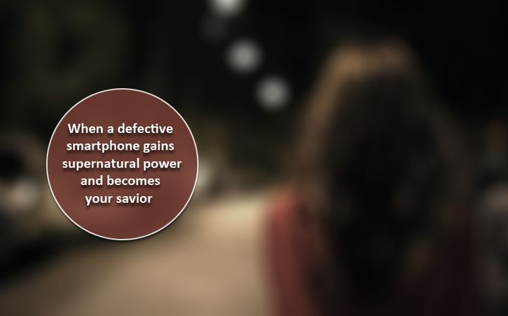 A screwed up phone saves a girl's life.