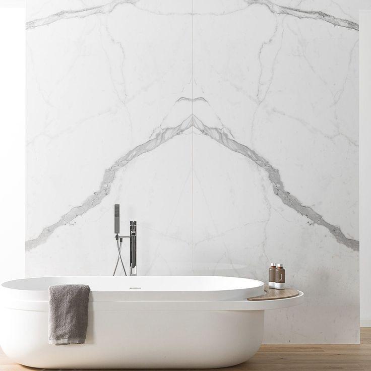 Wall-mounted tile / for floors / porcelain stoneware / matte XLIGHT PREMIUM KALA WHITE  URBATEK by PORCELANOSA Grupo