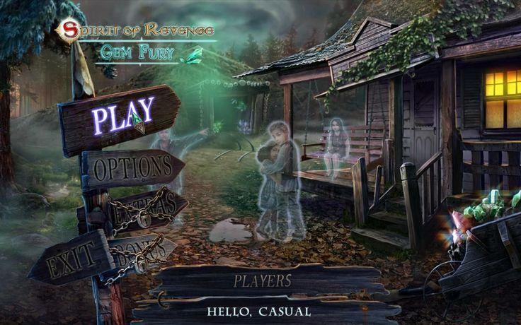 Ghoulish menu of Spirit of Revenge 3: Gem Fury!