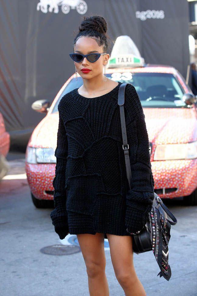 Zoe Kravitz Ss16 Ny Fashion Week Style Pinterest Estilo