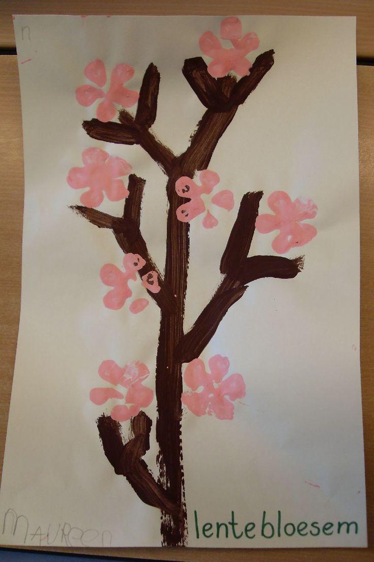 Lente: groeien en bloeien   Startvan het thema ThematafelEr staan verschillende echte en nep bloemen op de tafel. Bij alle bloemenstaan naambordjesin de kleur van de bloem.  Bloembollen planten en zaadjes zaaien.    Materialen te bestellen