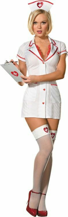 Hot nurse costume